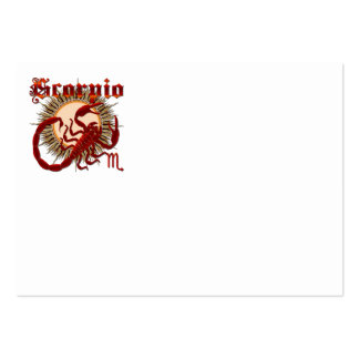 Scorpio-Design-1 Pack Of Chubby Business Cards
