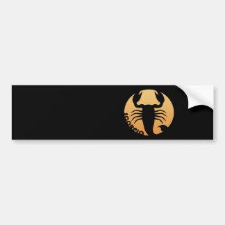 Scorpio Zodiac Sign Bumper Sticker