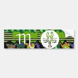 SCORPIO Zodiac Symbol Bumper Sticker