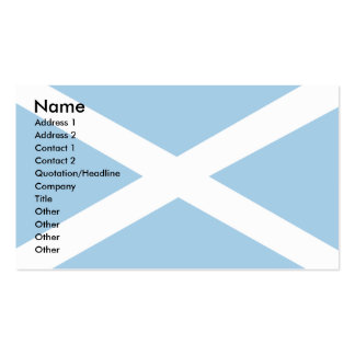 Scotland Flag Pack Of Standard Business Cards