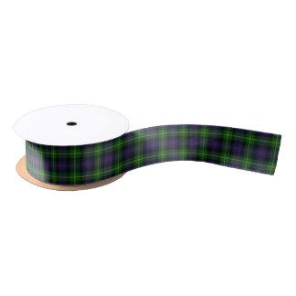 Scottish Clan Farquharson Classic Tartan Satin Ribbon