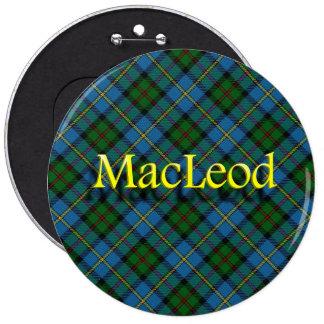 Scottish Clan MacLeod 6 Cm Round Badge