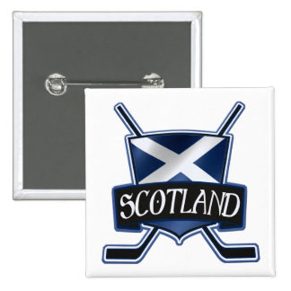 Scottish Ice Hockey Flag Logo Badge