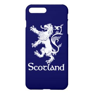 Scottish Rampant Lion Navy Blue iPhone 7 Plus Case