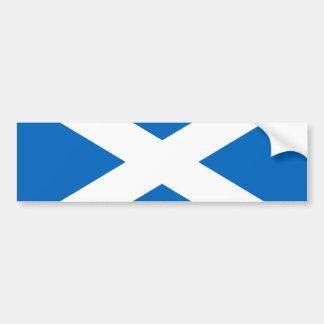 Scottish Scotland flag Bumper Sticker