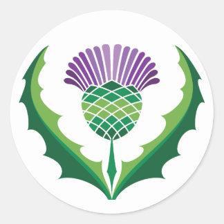 Scottish Thistle Sticker