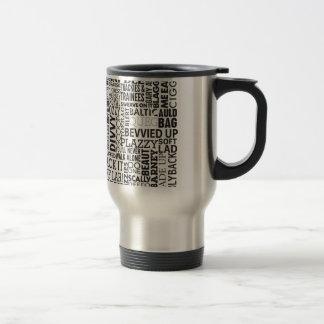 Scouse Words & Phrases Stainless Steel Travel Mug