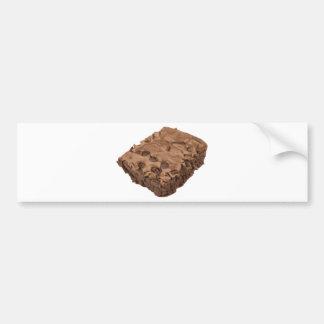 Scrumptious Brownie Sweet Dessert Bumper Sticker