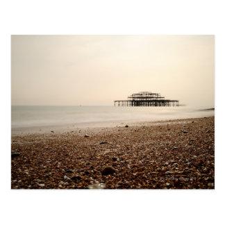 Sea at Brighton Beach Postcard