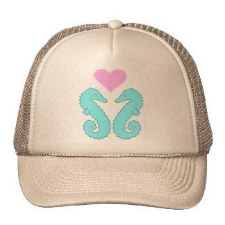 sea horse love cap