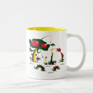 Sea-Monkey Two-Tone Mug