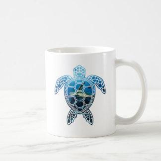 sea turtle-2 basic white mug