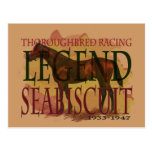 Seabiscuit - Thoroughbred Racing Legend Postcard