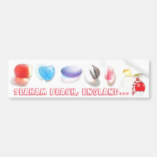 Seaham Beach, England Bumper Sticker