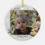 Seashell Frame Photo Ornament