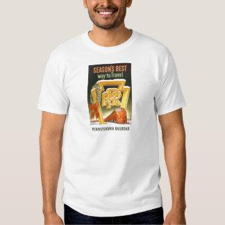 Season's Best Way To Travel Pennsylvania Railroad T Shirt