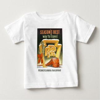 Season's Best Way To Travel Pennsylvania Railroad T Shirts