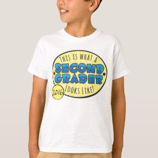 Second Grade Shirt | blue & yellow