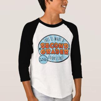Second Grade Shirt | orange & blue