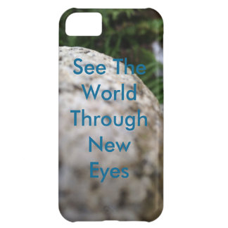 see the world through new eyes, iPhone 5c case