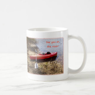 See You on the River Basic White Mug