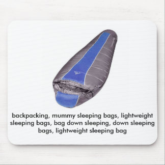 sell backpacking, mummy sleeping bags mouse pad