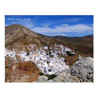 Serifos town – Serifos Postcard