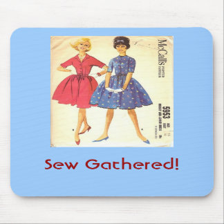 Sew Gathered Mouse Pad