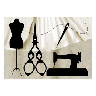 Sewing / Fashion / Seamstress - SRF Pack Of Chubby Business Cards