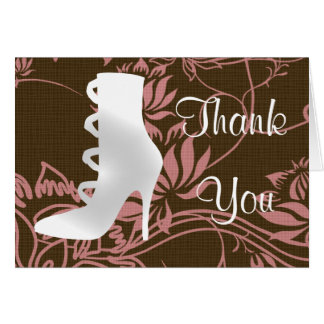 Sexy Boot Thank You Card