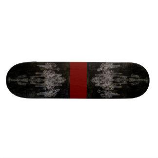 Shabby Chic Vintage Chandelier 18.1 Cm Old School Skateboard Deck