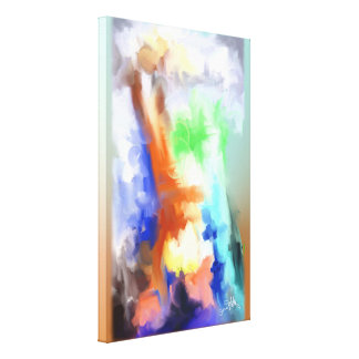 Shades of Colors Gallery Wrapped Canvas