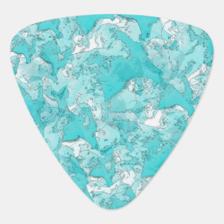 Shades Of Teal Plectrum