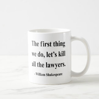 Shakespeare Quote 4a Basic White Mug