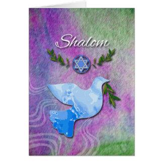 Shalom for Rosh Hashanah, Peace Dove Greeting Card