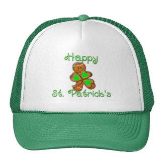SHAMROCK BOY HAPPY ST. PATRICKS by SHARON SHARPE Cap
