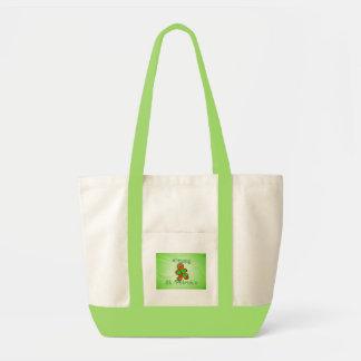 SHAMROCK BOY HAPPY ST. PATRICKS by SHARON SHARPE Impulse Tote Bag