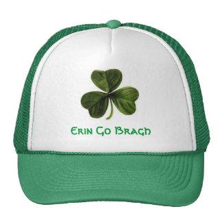 shamrock, Erin Go Bragh Cap