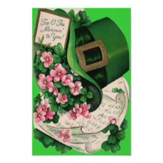 Shamrock Flower Leprechaun Hat Sheet Music Photo