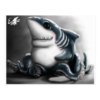 SHARKTOPUS POSTCARD