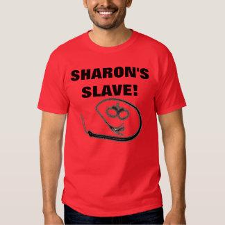 SHARON'S SLAVE! TEES