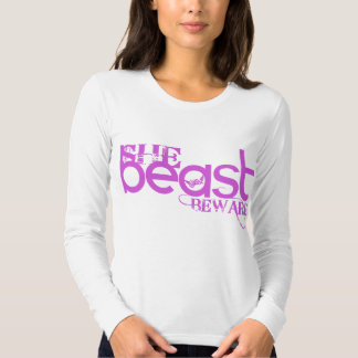 She Beast Pink Long Sleeve Shirt