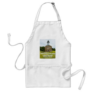 Sheffield Island Lighthouse, Connecticut Standard Apron