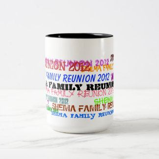 Shema Family Reunion 2012 Coffee Mug