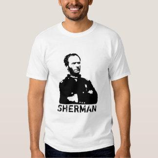 Sherman -- Black and White T-shirts