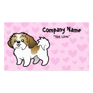 Shih Tzu Love (puppy cut) Pack Of Standard Business Cards