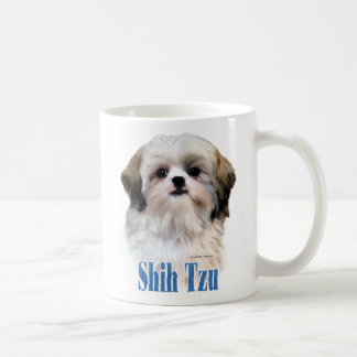 Shih Tzu Name Basic White Mug
