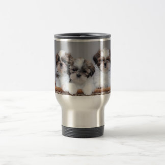 Shih Tzu puppies Stainless Steel Travel Mug