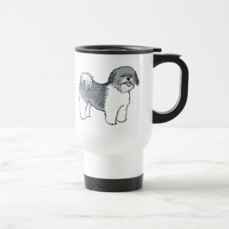 Shih Tzu Stainless Steel Travel Mug
