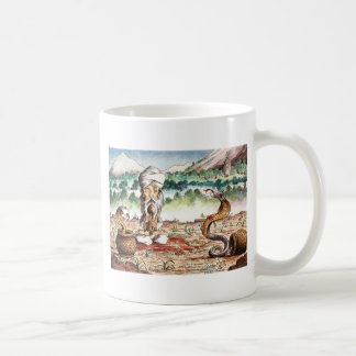 Shimmying Snake Basic White Mug